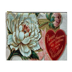 Victorian Valentine Card Cosmetic Bag (XL)