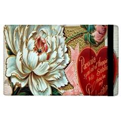 Victorian Valentine Card Apple iPad 2 Flip Case