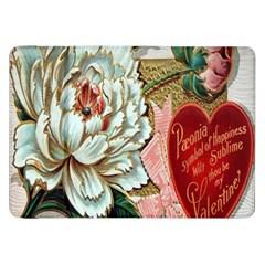 Victorian Valentine Card Samsung Galaxy Tab 8.9  P7300 Flip Case