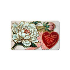 Victorian Valentine Card Magnet (Name Card)