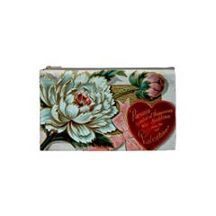 Victorian Valentine Card Cosmetic Bag (Small)