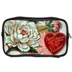 Victorian Valentine Card Travel Toiletry Bag (One Side)