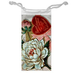 Victorian Valentine Card Jewelry Bag
