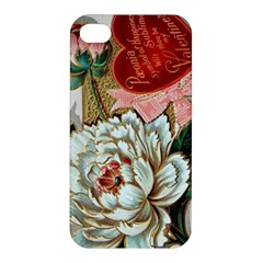 Victorian Valentine Card Apple iPhone 4/4S Hardshell Case