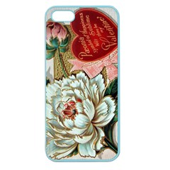 Victorian Valentine Card Apple Seamless iPhone 5 Case (Color)