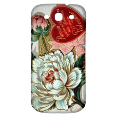 Victorian Valentine Card Samsung Galaxy S3 S III Classic Hardshell Back Case