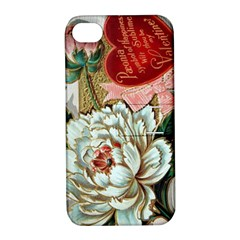 Victorian Valentine Card Apple iPhone 4/4S Hardshell Case with Stand
