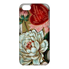 Victorian Valentine Card Apple iPhone 5C Hardshell Case