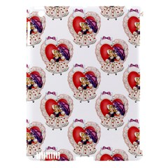 Vintage Valentine Girl Apple iPad 3/4 Hardshell Case (Compatible with Smart Cover)