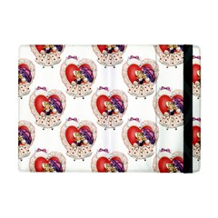 Vintage Valentine Girl Apple iPad Mini Flip Case