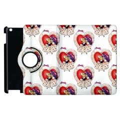 Vintage Valentine Girl Apple iPad 2 Flip 360 Case