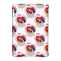 Vintage Valentine Girl Apple iPad Mini Hardshell Case (Compatible with Smart Cover)