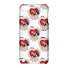Vintage Valentine Girl Apple iPod Touch 5 Hardshell Case with Stand