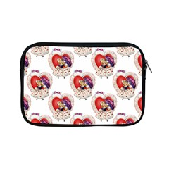 Vintage Valentine Girl Apple iPad Mini Zippered Sleeve