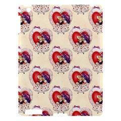 Vintage Valentine Girl Apple iPad 3/4 Hardshell Case