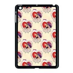 Vintage Valentine Girl Apple iPad Mini Case (Black)