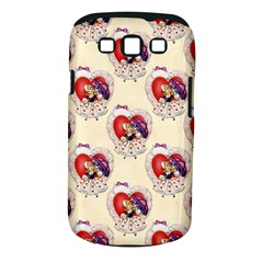 Vintage Valentine Girl Samsung Galaxy S III Classic Hardshell Case (PC+Silicone)