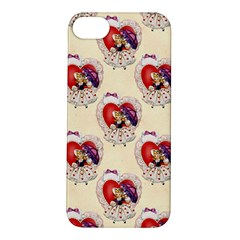 Vintage Valentine Girl Apple iPhone 5S Hardshell Case