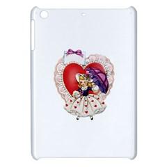 Vintage Valentine Girl Apple iPad Mini Hardshell Case