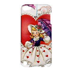 Vintage Valentine Girl Apple iPod Touch 5 Hardshell Case