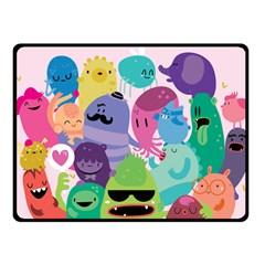 Happy Monsters Fleece Blanket (small)