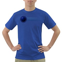 blue Mens' T-shirt (Colored)