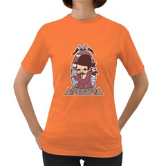Pirate Womens' T-shirt (Colored)