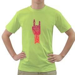 ROCK-et Mens  T-shirt (Green)