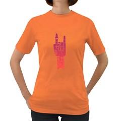 ROCK-et Womens' T-shirt (Colored)