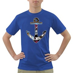 The Anchor Mens' T-shirt (Colored)