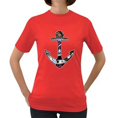 The Anchor Womens' T-shirt (Colored)