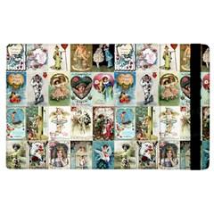 Vintage Valentine Cards Apple iPad 2 Flip Case