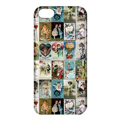Vintage Valentine Cards Apple iPhone 5C Hardshell Case