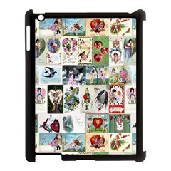 Vintage Valentine Cards Apple iPad 3/4 Case (Black)