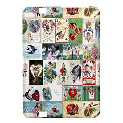 Vintage Valentine Cards Kindle Fire HD 8.9  Hardshell Case