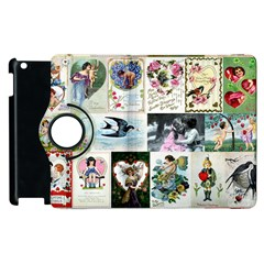 Vintage Valentine Cards Apple iPad 3/4 Flip 360 Case
