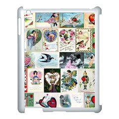Vintage Valentine Cards Apple iPad 3/4 Case (White)
