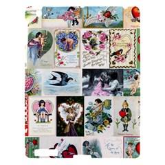 Vintage Valentine Cards Apple iPad 3/4 Hardshell Case