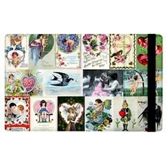 Vintage Valentine Cards Apple iPad 3/4 Flip Case