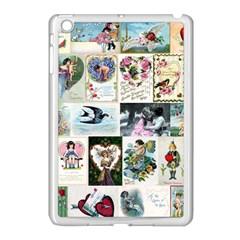 Vintage Valentine Cards Apple iPad Mini Case (White)
