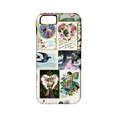 Vintage Valentine Cards Apple iPhone 5 Classic Hardshell Case (PC+Silicone)