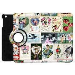 Vintage Valentine Cards Apple iPad Mini Flip 360 Case