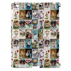 Vintage Valentine Cards Apple iPad 3/4 Hardshell Case (Compatible with Smart Cover)