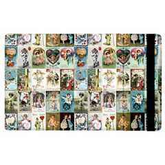 Vintage Valentine Cards Apple iPad 2 Flip Case