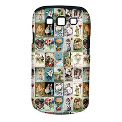 Vintage Valentine Cards Samsung Galaxy S III Classic Hardshell Case (PC+Silicone)