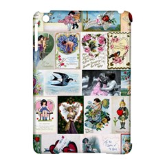 Vintage Valentine Cards Apple iPad Mini Hardshell Case (Compatible with Smart Cover)
