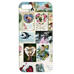 Vintage Valentine Cards Apple iPhone 5 Hardshell Case with Stand