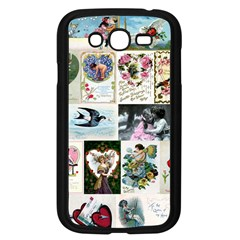 Vintage Valentine Cards Samsung Galaxy Grand DUOS I9082 Case (Black)