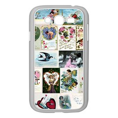 Vintage Valentine Cards Samsung Galaxy Grand DUOS I9082 Case (White)