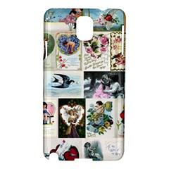 Vintage Valentine Cards Samsung Galaxy Note 3 N9005 Hardshell Case